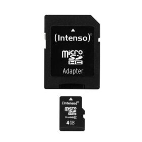 MicroSDHC 4GB Intenso + adapter CL10 blister