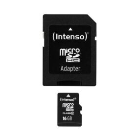 MicroSDHC 16GB Intenso + adapter CL10 blister