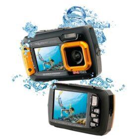 Easypix Aquapix W1400 Aktivna podvodna kamera (narančasta)
