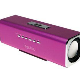 Logilink Discolady Soundbox s MP3 uređajem i FM radiom ružičasti (SP0038P)