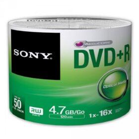 DVD + R 4,7 GB Sony 16x 50er skupljajući paket 50DPR47SB