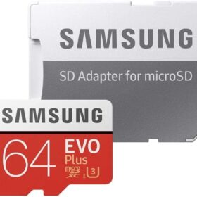 MicroSDHC 64 GB Samsung + SDHC adapter CL10 EVO Plus MB-MC64GA / EU