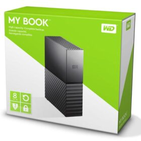 HDD Vanjski WD My Book 8TB WDBBGB0080HBK-EESN