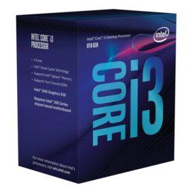 CPU Intel Core i3 8100 3,6 GHz BX80684I38100