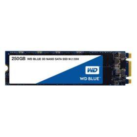 SSD 250 GB WD plavi M.2 (2280) SATAIII 3D 7 mm intern bulk WDS250G2B0B