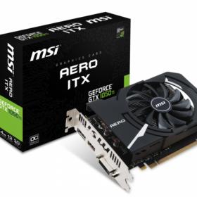 Grafička kartica MSI GeForce GTX1050Ti AERO ITX 4GB OC V1 V809-2606R