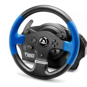 ThrustMaster T150 Force Feedback Volan + Pedale PC - PlayStation 4 - Playstation 3 Crna -