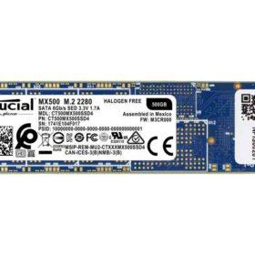 Crucial SSD M.2 500 GB MX500 Box Crucial CT500MX500SSD4