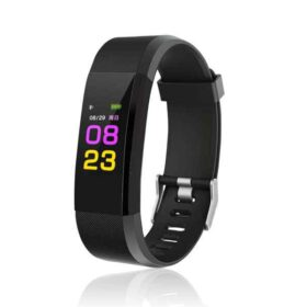 Bluetooth pametna narukvica Fitness Tracker (crna)