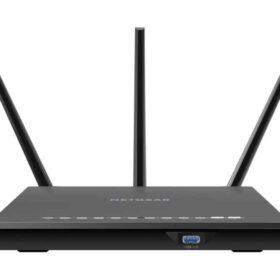 Dvopojasni Netgear (2,4 GHz / 5 GHz) Gigabit Ethernet crni bežični usmjerivač R7000-100PES