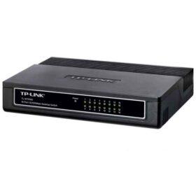 TP-LINK 16-portni 10 / 100Mbps stolni prekidač Neupravljani mrežni prekidač Bijeli TL-SF1016D