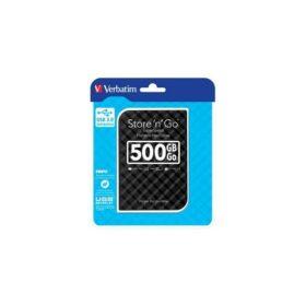 HDD 2.5 USB3 500 GB Verbatim Store n Go GEN2 crna 53193