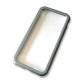 Aluminijska futrola za iPhone 7 + 8 s magnetnom bravom (srebrna)