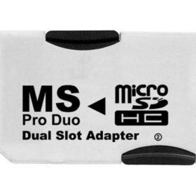 Pro Duo adapter za MicroSD DUAL (za 2x MicroSD)