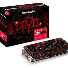 PowerColor Radeon RX 580 Red Devil 8GB - PCI-Express AXRX 580 8GBD5-3DH / OC