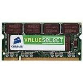 Corsair Value Select SO-DIMM - 0,5 GB DDR 200-pinski 400 MHz - VS512SDS400