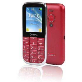 Olympia Joy II 6,1 cm (2,4 inča) 64 g Crveni telefon s fotoaparatom 2220