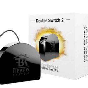 Dvostruka sklopka Fibaro 2 Leistungsrelais Z-Wave FIBEFGS-223