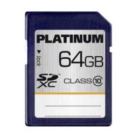 Platinum SDXC 64GB CL10 u maloprodaji