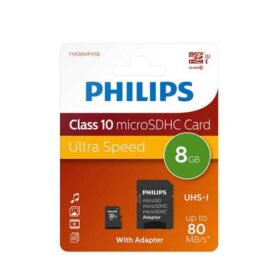 Philips MicroSDHC 8GB CL10 80mb / s UHS-I + Adapter u maloprodaji