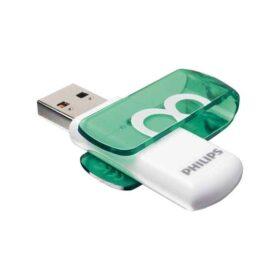 Philips USB 2.0 8 GB živopisno izdanje zeleno FM08FD05B / 10