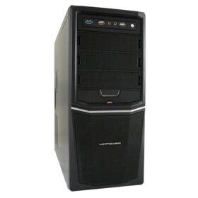 LC Power PC- Gehäuse Pro-Line 924B + uklj. 350 W Netzteil LC-924B +