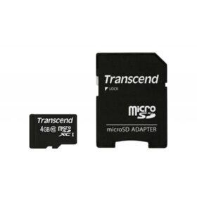 Transcend MicroSD kartica 4 GB SDHC Class10 s oglasom. TS4GUSDHC10
