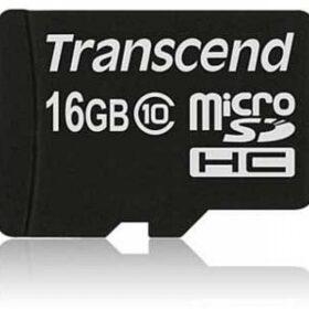 Transcend MicroSD / SDHC kartica 16 GB Class10 (ohne adapter) TS16GUSDC10