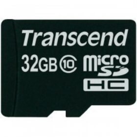 Transcend MicroSD / SDHC kartica 32 GB Class10 bez prilagodbe. TS32GUSDC10