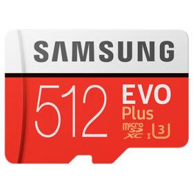 Samsung MicroSD / SDXC kartica 512 GB EVO Plus Cla.10 s oglasom. Maloprodaja MB-MC512GA / EU