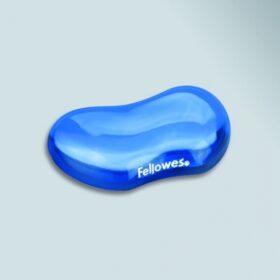 Mauspad Fellowes kristalni gel Flex Auflage blau 91177-72