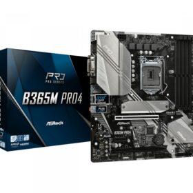ASRock B365M Pro4 LGA 1151 (Socket H4) Micro ATX 90-MXB9T0-A0UAYZ