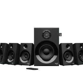 Logitech Logitech Z607 5.1 Prostorni zvuk s BT CRNIM PLUGOM - EU 980-001316