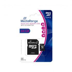 MediaRange MicroSD kartica 64 GB Cl.10 s Ada. MR955