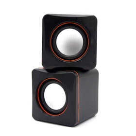 2.0 multimedijski zvučnik D-O2A crne boje