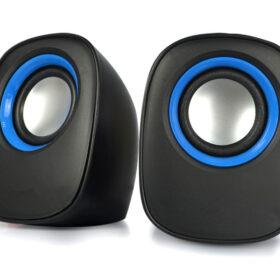 2.0 multimedijski zvučnik D-O5A crne boje