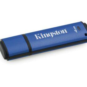 Kingston DataTraveler Vault Privacy 3.0 4GB USB-Stick Blau DTVP30 / 4GB