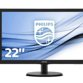 Philips 21,5 223V5LHSB LED zaslon HDMI, VGA - 223V5LHSB / 00