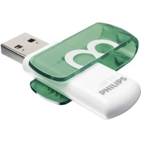 Philips USB-Stick 8 GB 3.0 USB pogon Živopisan, super brzi zeleni FM08FD00B / 00
