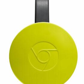 Google Chromecast 2 žuta limunada GA3A00182-A10-Y20