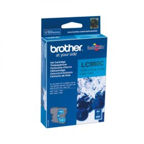Brother LC LC980CBPDR - Spremnik s tintom Original - cijan - 5,5 ml LC980C