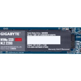 Gigabyte SSD 512 GB M.2 PCIe GP-GSM2NE3512GNTD