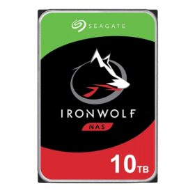 Seagate HDD IronWolf NAS 10TB Sata III 256MB D ST10000VN0008