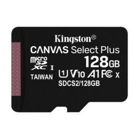 Kingston MicroSDXC 128 GB + Adapter Canvas Select Plus SDCS2 / 128 GB