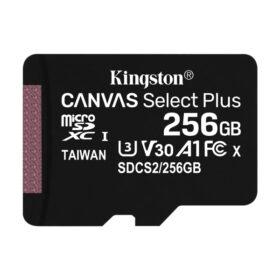 Kingston MicroSDXC 256 GB + Adapter Canvas Select Plus SDCS2 / 256 GB