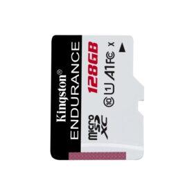 Kingston MicroSD 128 GB High Endurance 95 MB / s 45 MB / s SDCE / 128 GB