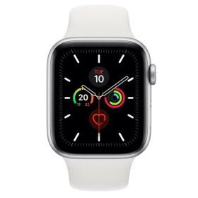 Apple Watch 5 44 mm Sil Alu futrola s bijelom sportskom trakom LTE MWWC2FD / A