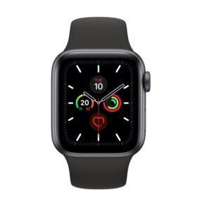 Apple Watch 5 44mm zlatna aluminijumska futrola s ružičastim sportskim remenom LTE MWX22FD / A