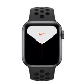 Apple Watch 5 40 mm SG alu futrola s antracietom / crna Nike LTE MX3D2FD / A