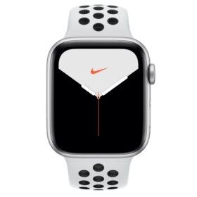 Apple Watch 5 44 mm Sil Alu futrola s platinastom / crnom Nike LTE MX3E2FD / A